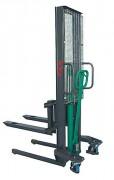 Gerbeur manuel à levée hydraulique 250 à 1000 Kg - Capacités (Kg) : de 250 à 1000