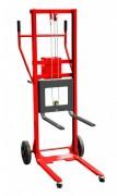Gerbeur manuel à treuil auto freiné - Charge utile (Kg) : 250