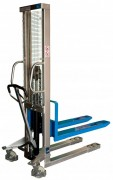 Gerbeur manuel hydraulique - Charge utile (Kg) : 1000 - Conforme normes Européennes