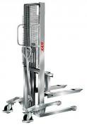 Gerbeur manuel inox pour professionnel - Capacités : 250 kg - 500 kg - 1000 kg