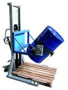 Gerbeur retourneur de fûts 350 Kg - Capacité de charge : 350 kg