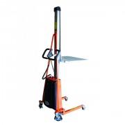 Gerbeur semi-électrique positionbeur de travail - Capacité : jusqu'à 250 kg
