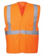 Gilet baudrier polyester - Norme EN 471 classe 2:2
