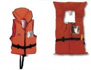 Gilet de sauvetage bateau - Idéal pour le bateau-pédalier avec son dos en tissu.