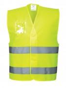 Gilet de signalisation en polyester - Tailles : S - M - L - XL - XXL - 3XL