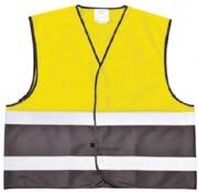 Gilet de signalisation en polyester Taille S à 3XL - Taille : du S à 3XL