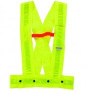 Gilet de signalisation fluorescent - Réglable