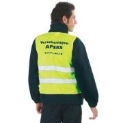 Gilet fluo de signalisation  - Tailles : S - XXL