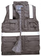 Gilet grand froid marine