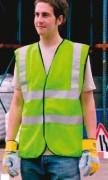 Gilet haute visibilité jaune - Gilet conforme à la norme EN471 classe 2