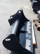 Godet de curage fixe pour mini pelle 0,5 à 6 tonnes - Montage sur axe ou reprise par coupleur à axes