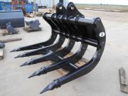 Godet Fleco pour pelles chantier 1 à 35 tonnes - Pour travaux publics intensifs, extraction de pierres