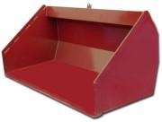 Godet hydraulique - Largeur de travail : 1,80 à 2,50 m - Lame acier arrière