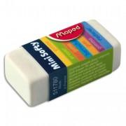 Gomme Mini Softy – Idéal pour les trousses - Maped