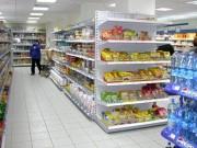 Gondole de magasin alimentaire - Hauteur : de 120 à 300 cm - Profondeur : de 37 à 77 cm