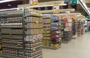 Gondole de supermarché