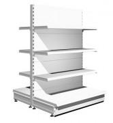 Gondole étagère de magasin - Hauteurs : de 1m à 3m50 - Profondeurs possibles : de 20 cm à 80 cm