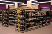 Gondole pour cave à vins - Pour mettre en valeur vos crus