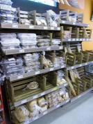Gondole rayonnage magasin
