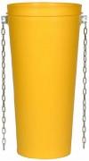 Goulotte à gravats - Résistance : 1000 kg/chaîne - Longueur utile : 0,85 m