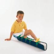 Gouttière jambe enfant - Dimensions (L x l) cm : 78 x 32