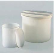 Grand bac alimentaire emboîtable cylindrique 80L - Plus couvercle