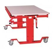Grand bureau à hauteur variable - Hauteur réglable de 550 à 800 mm