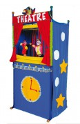 Grand théâtre marionnettes - Dimensions (L x H x P)cm : 82 x 172 x 53
