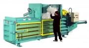 Grande presse à balles horizontales - Dimensions du caisson (L x P x H) mm : 1000 x 750 x 2500 – 800 x 1000 x 3150