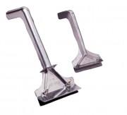 Grattoirs pour plaques - Longueur des lames (cm) : 9 - 12