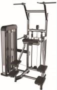 Gravitron musculation en acier - Charge max : 66K g - Norme européenne EN957