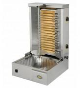 Grill à kebab électrique - Capacité : 25 kg de viande