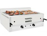 Grill à pierre de lave professionnel de comptoir - Dim ( L x P x H ) : 1200 x 700 x 430 mm- Débit calorifique : 13 -17.5 26 Kw