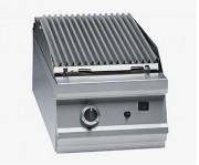 Grill charcoal inox à pierres volcaniques - Puissance gaz : 10,50 ou 21 kW