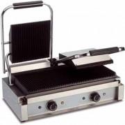 Grill électrique double plaques - Dimensions (L x l x h) :  400 x 570 x 210 mm