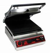 Grill électrique rainurée 4500 W - Plaques inf et sup Rainurées