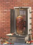 Grill kebab et gyros - Poids max. de la viande : 30 kg - Hauteur : 920 mm - Au gaz de propane