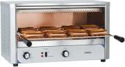 Grill pain à quartz en acier - Résitance à quartz : 3 en haut et 3 en bas