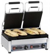 Grill panini double avec minuteur - Puissance : 2 900 W / 230 V