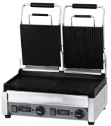 Grill panini double mixte - Puissance : 2 900 W / 230 V