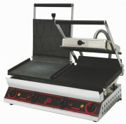 Grill panini double mixtes - 1 gril panini et 1 grill nordic