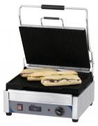 Grill panini inox professionnel - Puissance : 2 400 W / 230 V