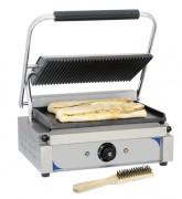 Grill panini lisse - Plaques en fonte d'acier