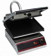 Grill panini professionnel 2220 W - Dimensions : ( L x P x H ) Ext : 260 x 460 x 500 mm