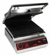 Grill panini professionnel lisse - Dimensions : ( L x P x H ) Ext : 380 x 550 x 650 mm