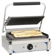 Grill panini rainurée -lisse - Puissance : 2 200 W / 230 V