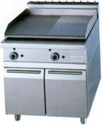 Grill professionnel électrique inox - Puissance (kw) : 3 - 5.4 - 6 - 9 - 10.8