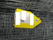 Grillage en fil d'une hauteur de 1200 mm avec fils verticaux espacés de 150 mm - Rouleau de 100 m - Hauteur de 1200 mm
