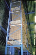 Grille anti chute rayonnage - Hauteur (mm) : 600 - 1000 - 1200 - 1500