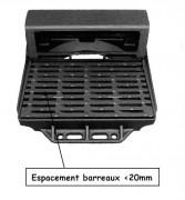 Grille avaloir fonte auto verrouillable C250 - Classe : C 250 - PMR